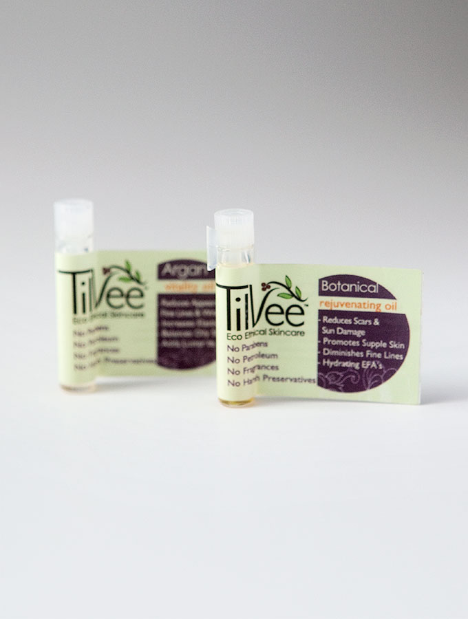 Tilvee Face & Eye Oils