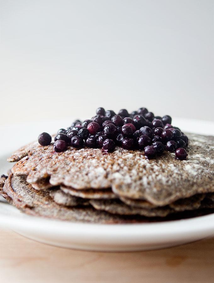 Pure Buckwheat Pancakes