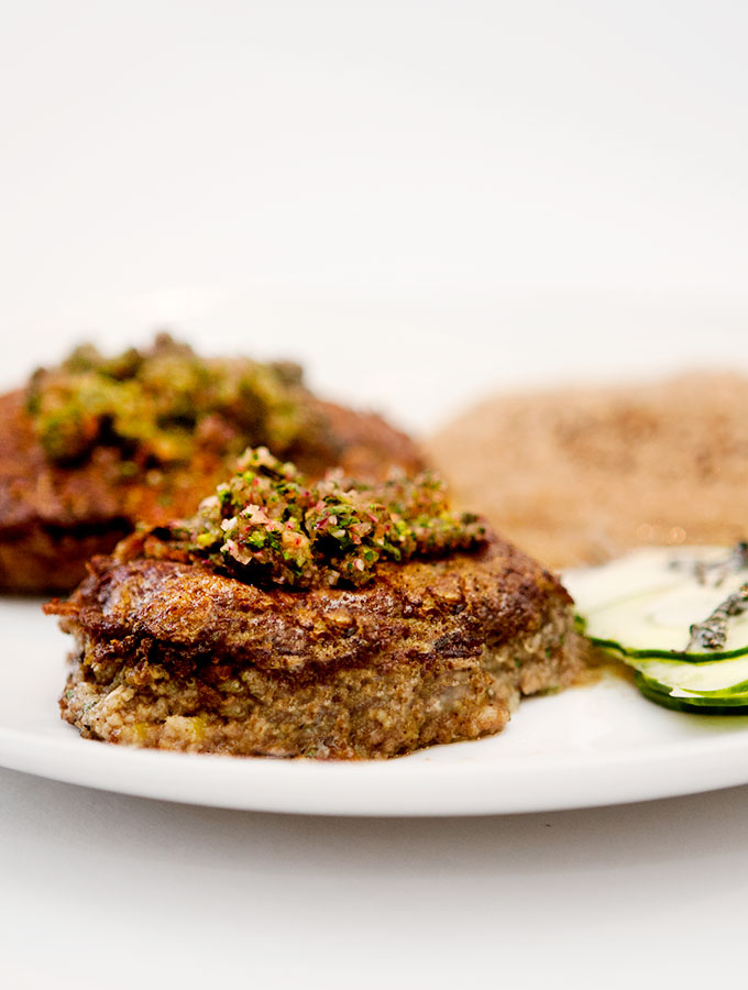 Mouth-Watering Lamb Shammi Kababs With Amaranth
