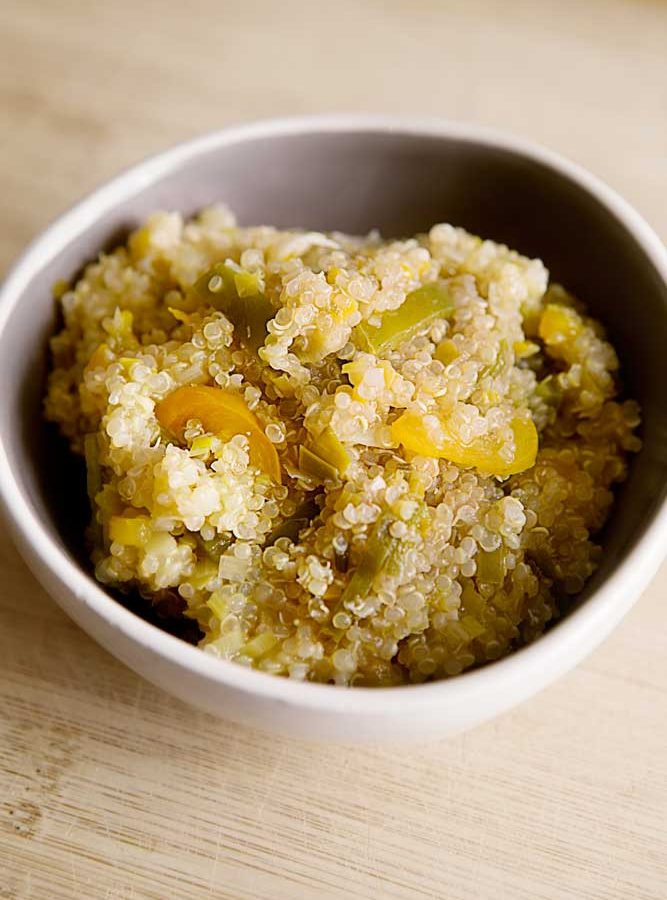 Basic Savory Quinoa