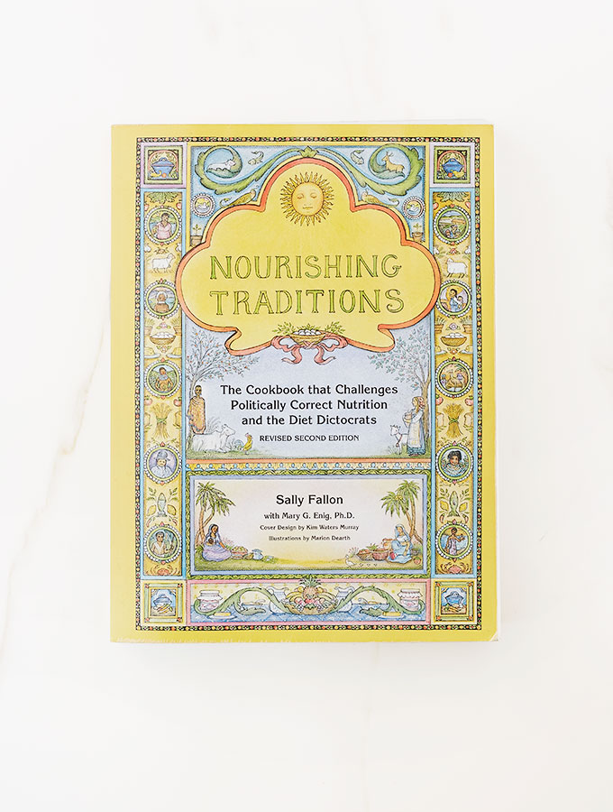 Nourishing Traditions: The book that will silence tortured thoughts about FAT.