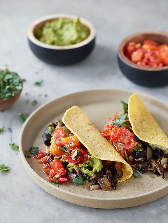 World's Best Mushroom Stuffed Tacos