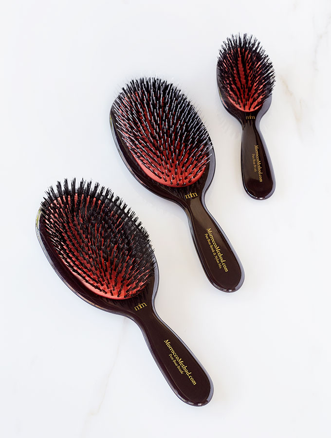 Morrocco Method Boar Bristle Hair Brushes