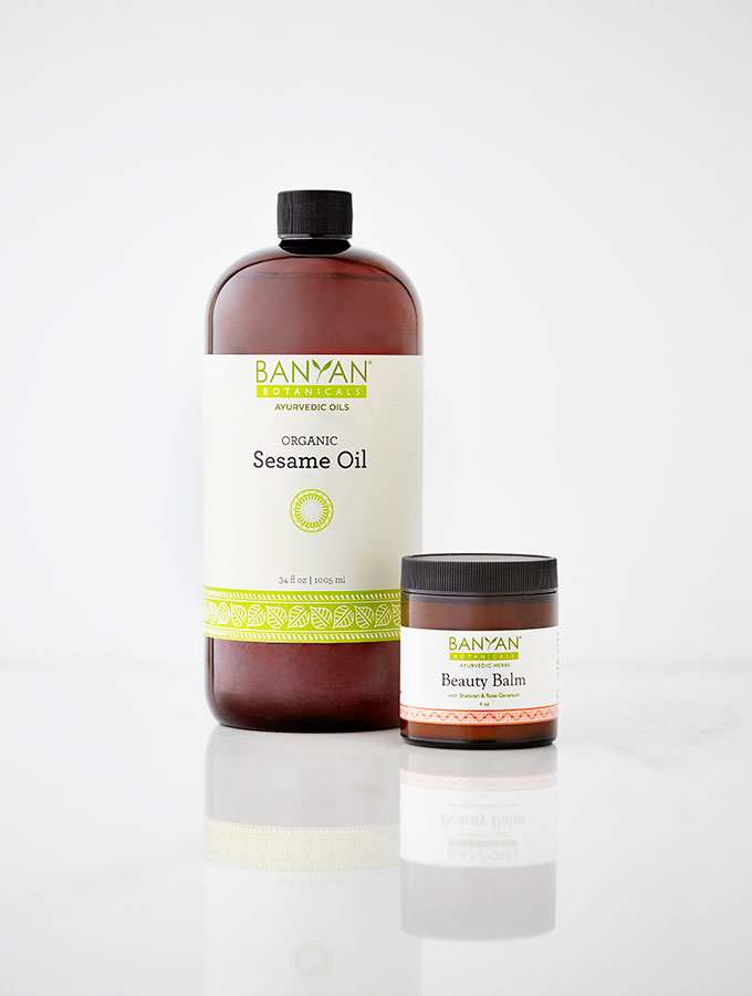Banyan Botanicals Ayurvedic Ghee Beauty Balm & Sesame Body Oil