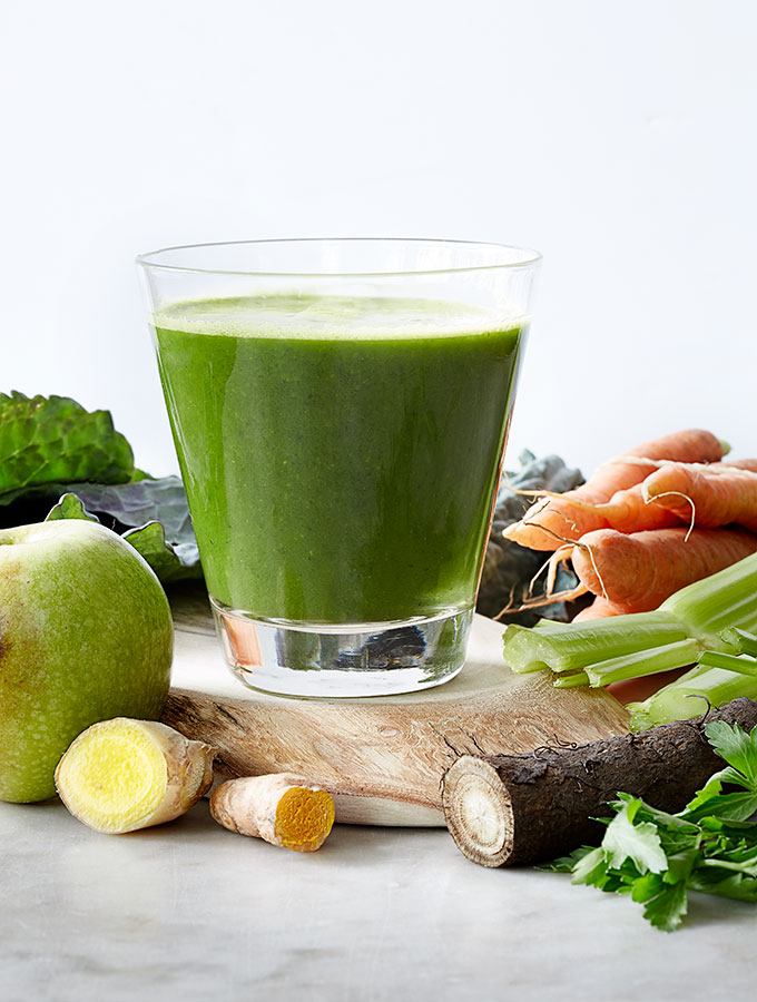 Immune Building Green Gobo Reset Juice